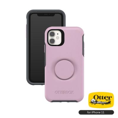 OtterBox Otter+Pop iPhone 11(6.1吋)專用 防摔吸震保護殼-Symmetry炫彩幾何泡泡騷系列■粉紅
