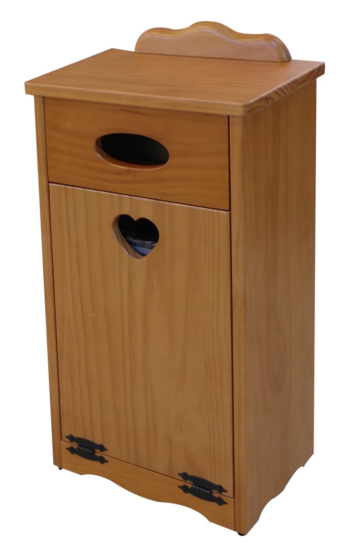 【尚品家具】621-H413 實木垃圾桶