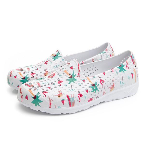 【PONY】女 / 親子鞋 / TROPIC輕量透氣洞洞鞋 - 02U1SA08(K1) - 彩色