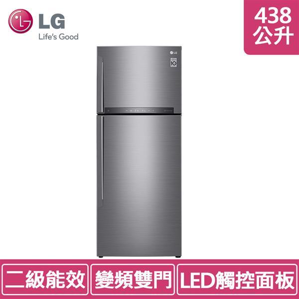 LG GI-HL450SV 438公升 (冷藏 321L:冷凍 117L) 直驅變頻冰箱