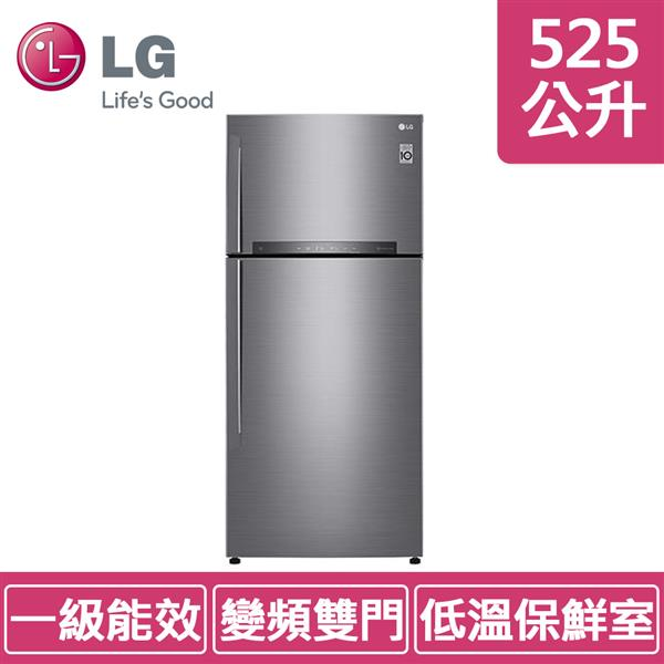 LG GN-HL567SV (525公升) 銀色 魔術藏鮮上下門冰箱