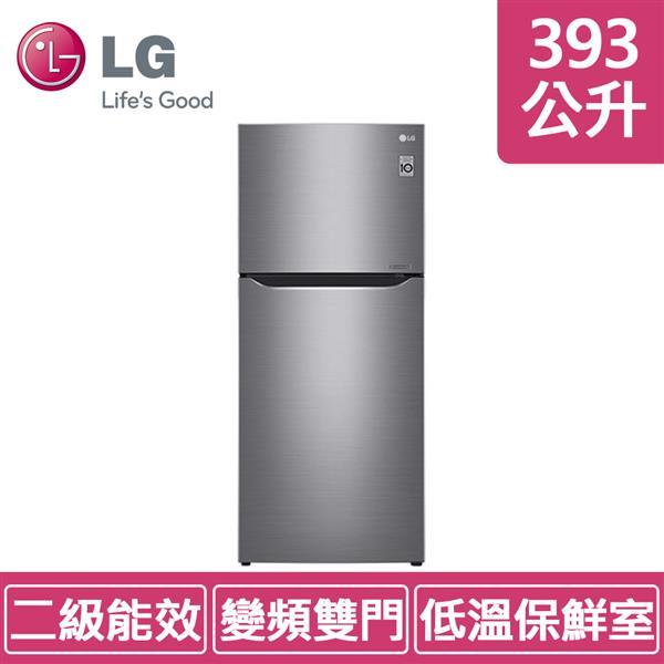 LG GN-BL418SV (393公升) 直驅變頻上下門冰箱