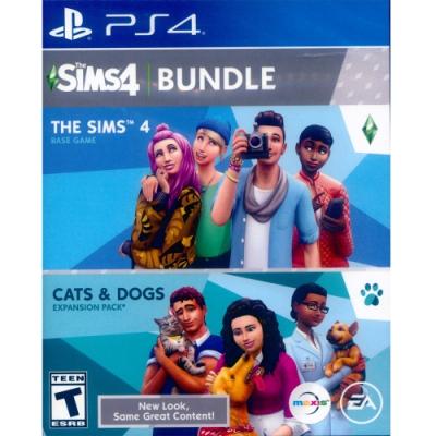 模擬市民 4 + 貓狗總動員 THE SIMS 4 + CATS & DOGS BUNDLE - PS4 中英文美版