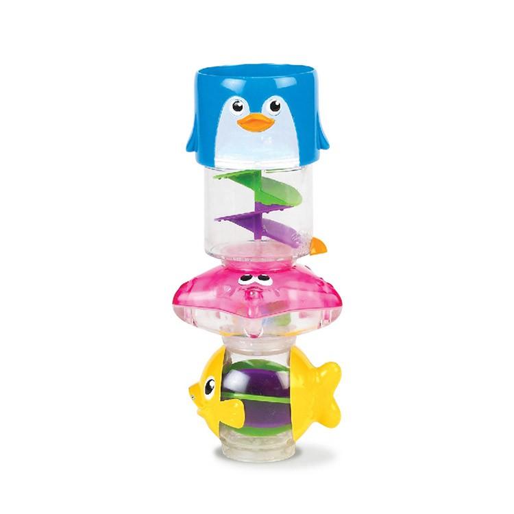 美國 munchkin 水柱旋轉洗澡玩具