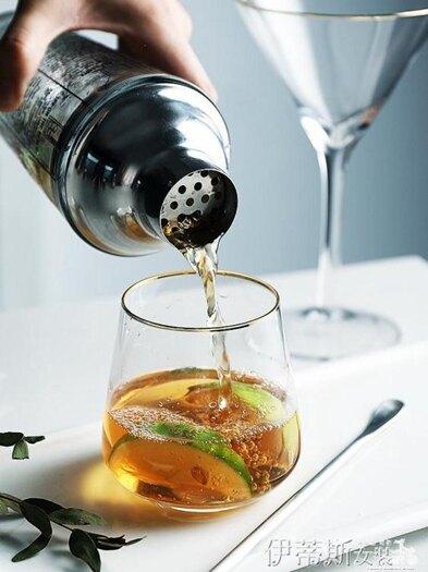 調酒器玻璃調酒器帶刻度雪克杯透明奶茶手搖杯酒吧雞尾酒搖春季特賣夏季新品 五一特惠