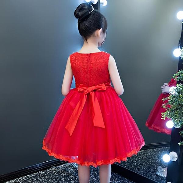 2021新款兒童公主裙夏裝超洋氣女孩禮服網紅女童裝連衣裙夏天裙子 霓裳細軟