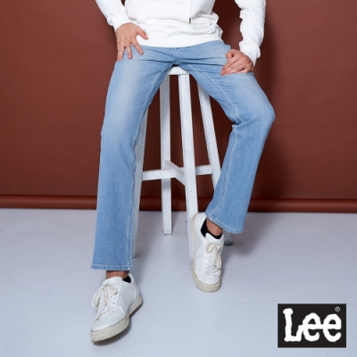 Lee 743 四面彈牛仔褲 中腰舒適直筒 男款 淺藍
