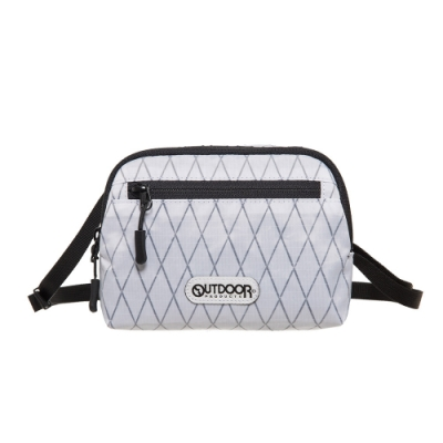 【OUTDOOR】輕遊系-側背包-白色 OD201103WT