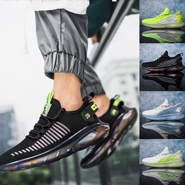FOFU-運動鞋ManStyle高品質高彈飛織椰子鞋單網透氣休閒運動鞋【09S2571】