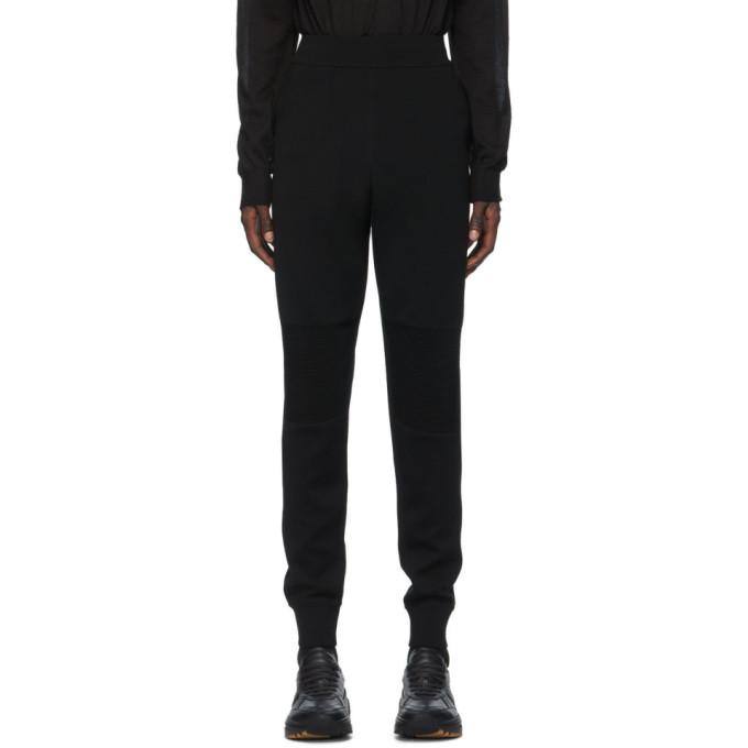 Bottega Veneta 黑色双面长裤
