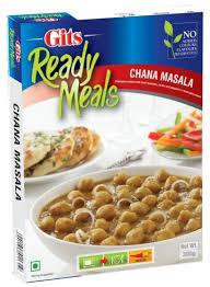 印度雞豆咖哩即食調理包  Chana Masala GITS 300gm
