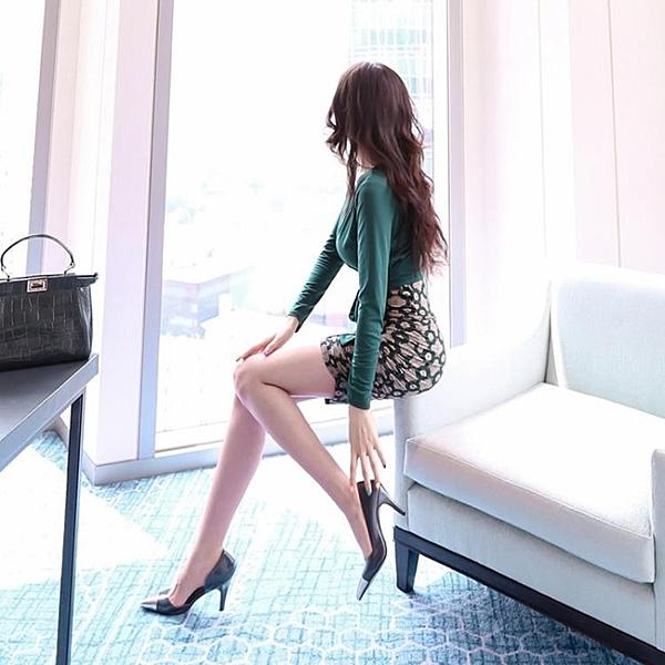 夜場女裝性感長袖洋裝2020春秋新款氣質名媛包臀修身顯瘦打底裙 【Ifashion·全店免運】