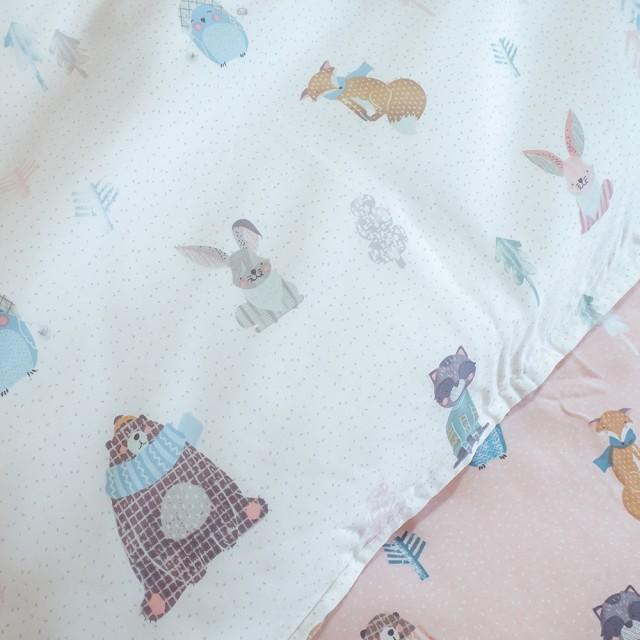 100%天絲 鋪棉床包兩用被組合 夢遊小同伴【棉床本舖】