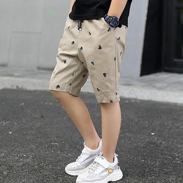 男童短褲 巴拉巴拉男童七分褲夏裝薄款洋氣兒童褲子短褲中大童夏季中褲五分 源治良品