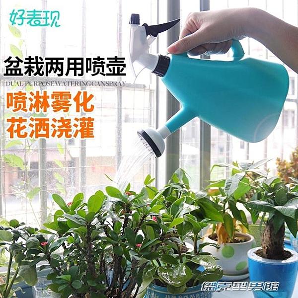 【快出】噴水器家用多肉手壓式兩用噴壺盆栽噴霧器澆水壺園藝澆花噴水灑水壺
