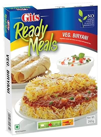 印度蔬菜燉飯即食調理包  Vegetable Biryani GITS 265gm