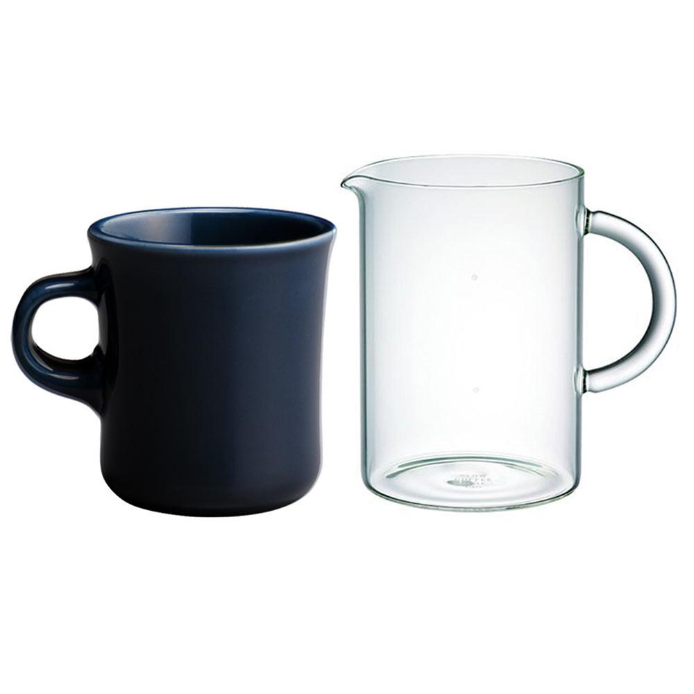 【日本KINTO】 SCS咖啡壺杯分享組(馬克杯+咖啡壺)《WUZ屋子》