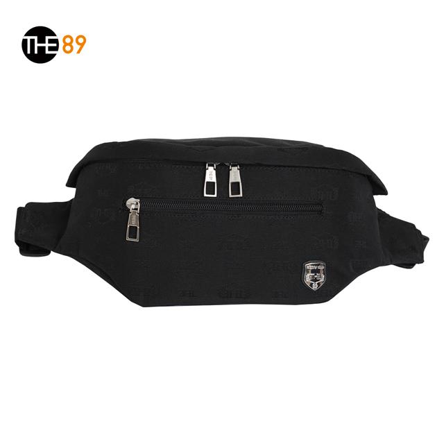 THE89-輕便時尚995-8301 腰包-黑色