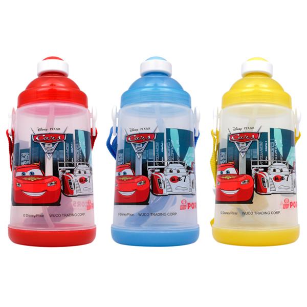 CARS2可愛吸管水壺 650ml