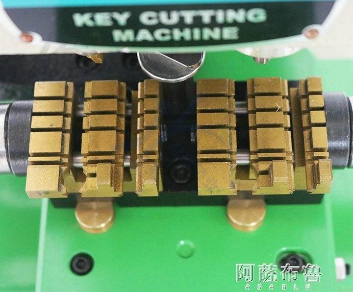 19新款富工鑰匙機多功能夾具復制機998A平銑內外銑兩用加長鑰匙機 MKS