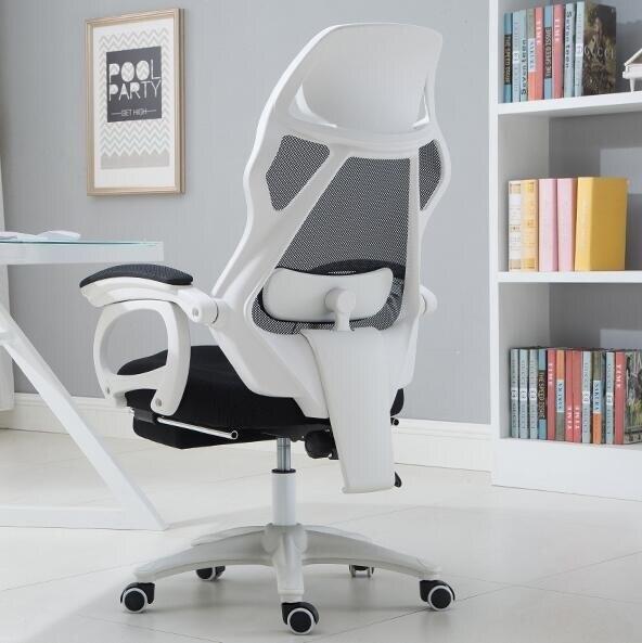 電競椅 電腦椅家用辦公椅人體工學椅網布轉椅擱腳老板椅子職員椅全館折扣限時優惠