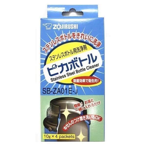 ZOJIRUSHI 象印 不銹鋼保溫瓶清洗劑 40g 黑皮TIME 02203