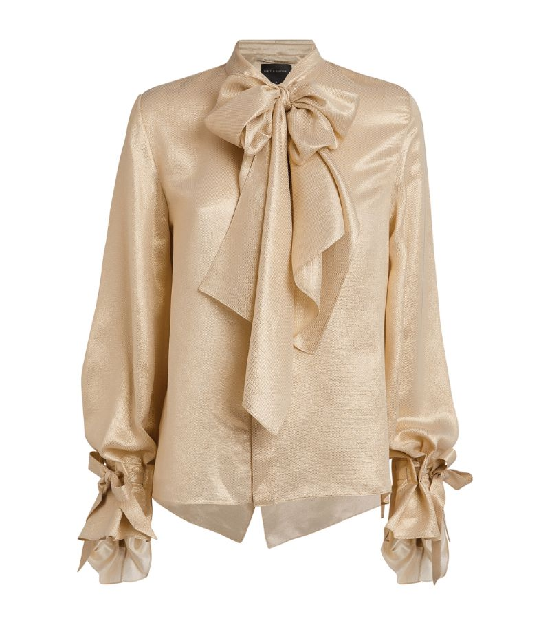 Roland Mouret Pussybow Royce Blouse