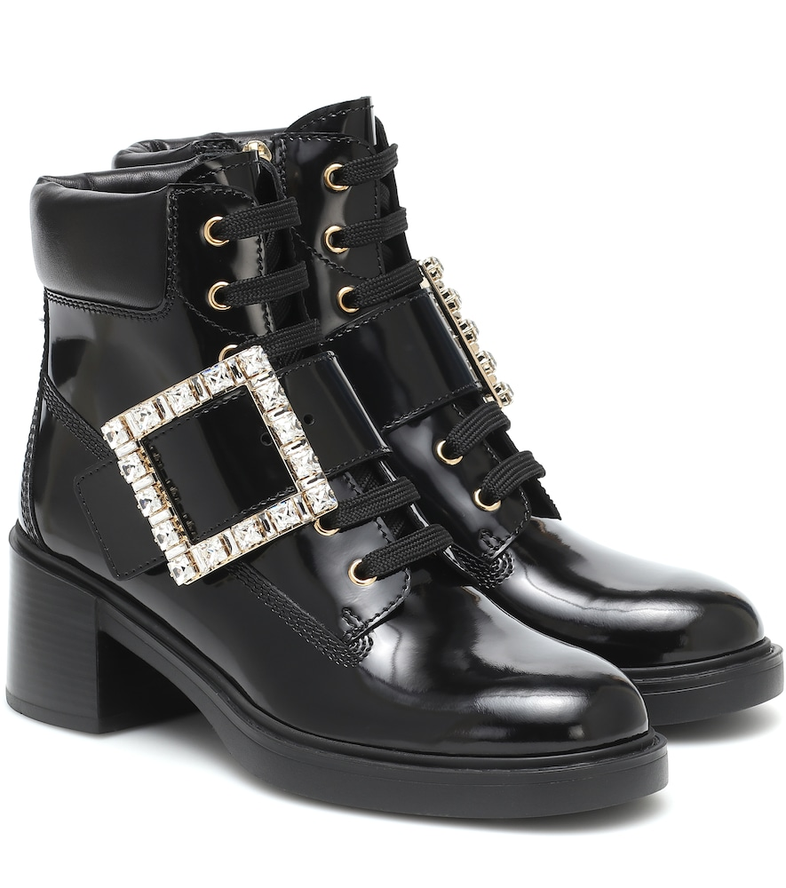 Viv Rangers lace-up ankle boots