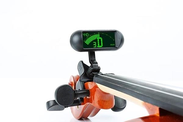 調音器 專業小提琴電子校音器調音器練習專用方便檢查音準小提琴專用 果果生活館