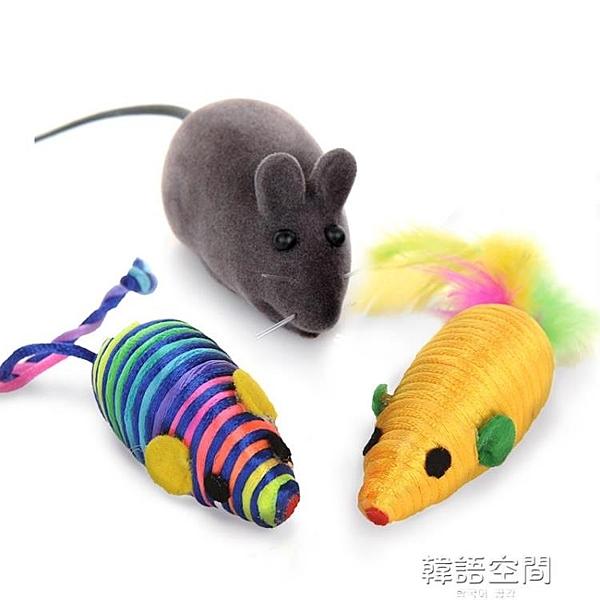 貓玩具仿真老鼠發聲玩具逗貓小貓玩具小老鼠貓咪玩具自嗨幼貓用品