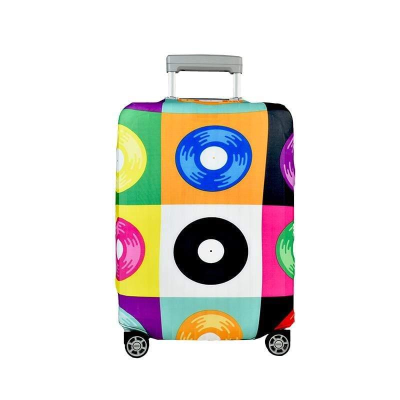 行李箱套-彩色盤 XL