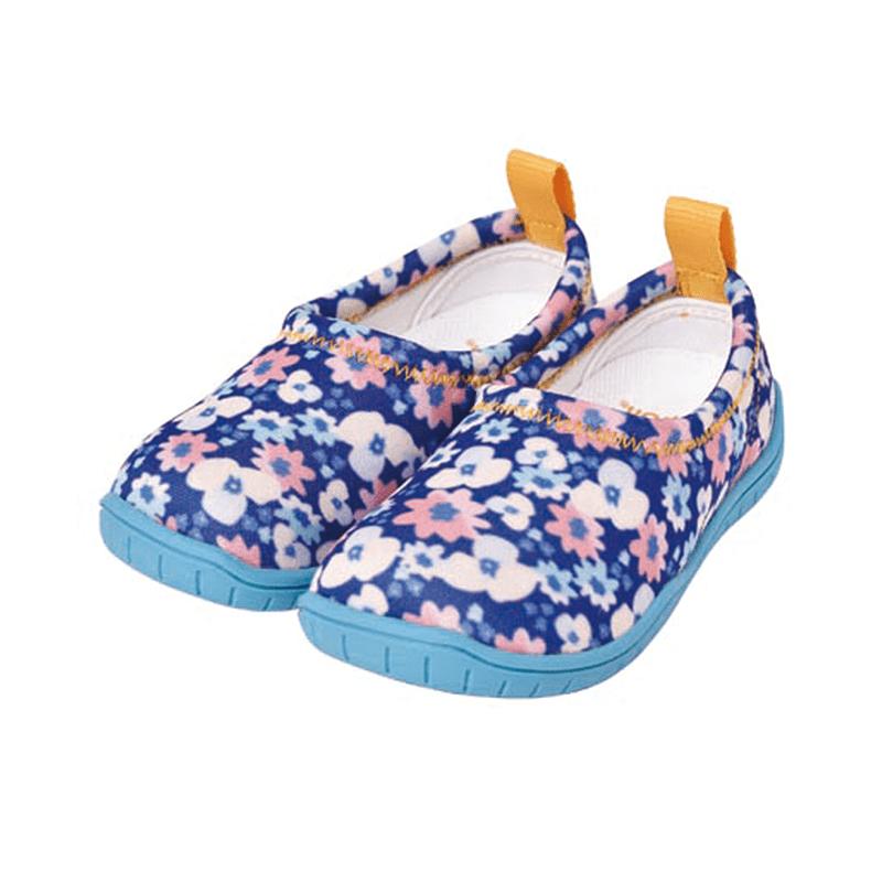 兒童休閒機能鞋「ISEAL VU系列」-南法碎花 17cm