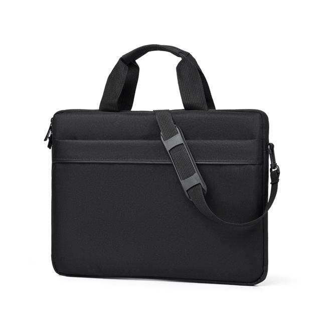 Cartinoe 15.6吋 時尚簡約 手提筆電包 (CL267) 黑