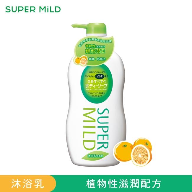 詩波蜜柔沐浴乳柑橘香清爽型650g