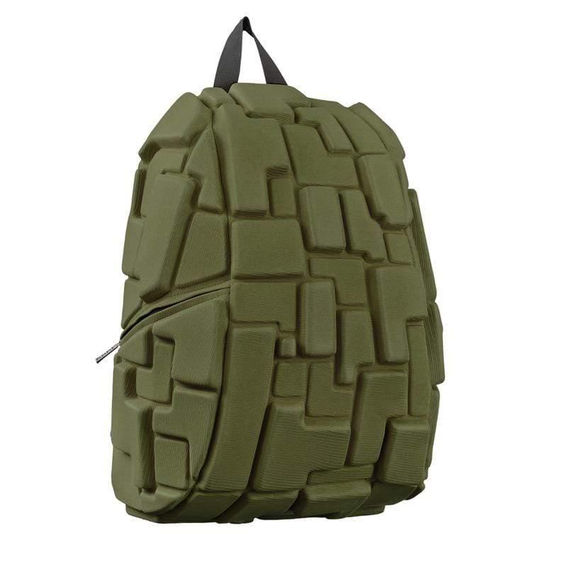 時尚造型包(大包)-墨綠色積木包
