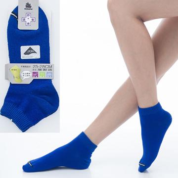 【KEROPPA】可諾帕舒適透氣減臭加大超短襪x寶藍色兩雙(男女適用)C98005-X