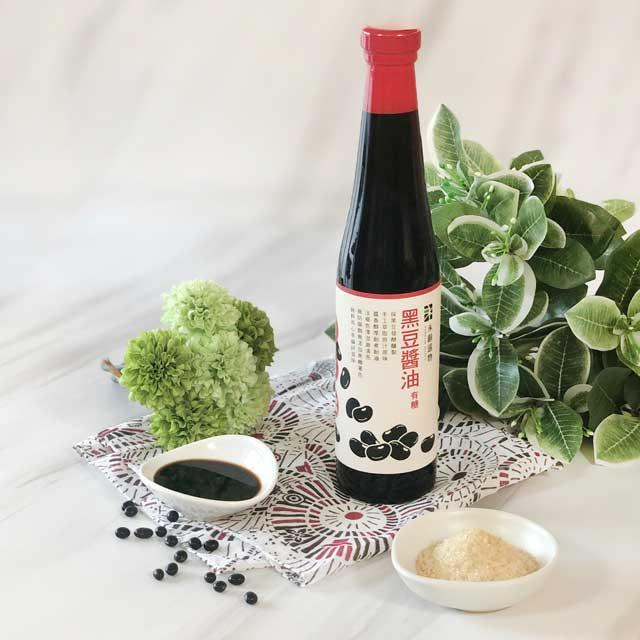 【永齡選物】黑豆醬油[有糖]3入組(420ml*3)