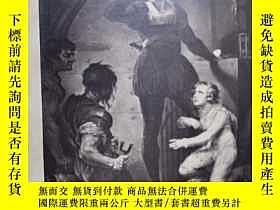 二手書博民逛書店稀缺,古籍本《戲劇故事集:羅密歐與朱麗葉》大量黑白版畫,罕見18