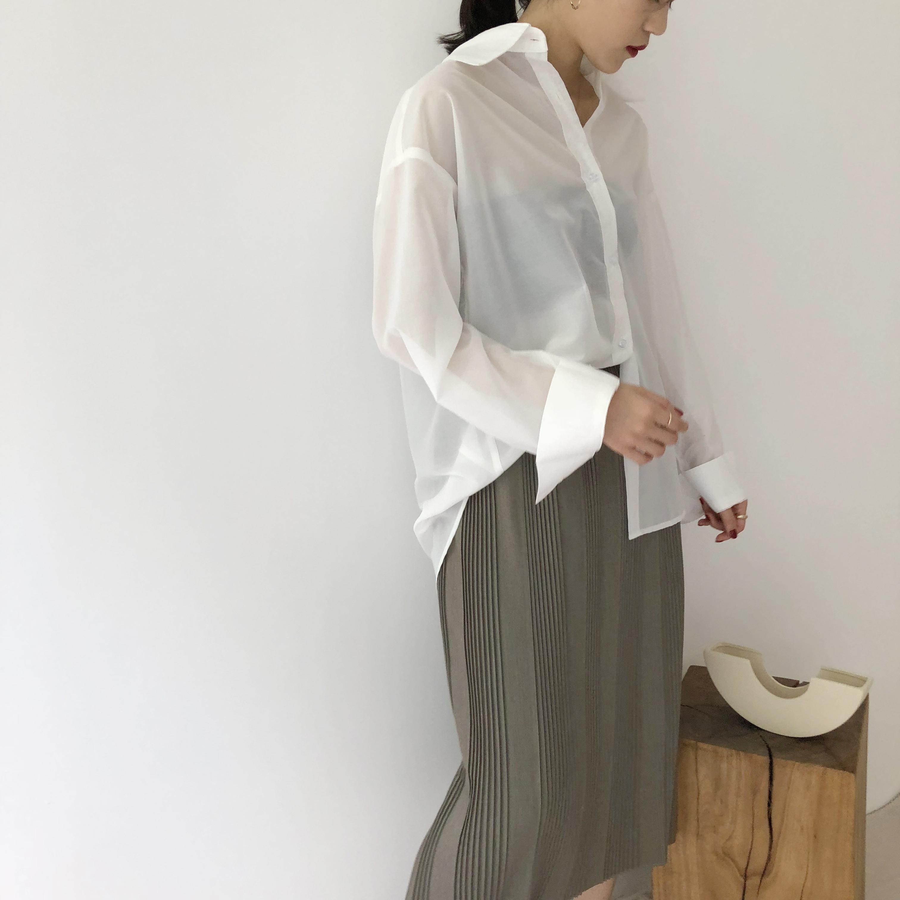 文藝風壓紋長裙 灰色 黑色 白色 均碼