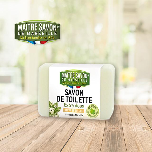 法國玫翠思馬賽植物皂(忍冬)200g