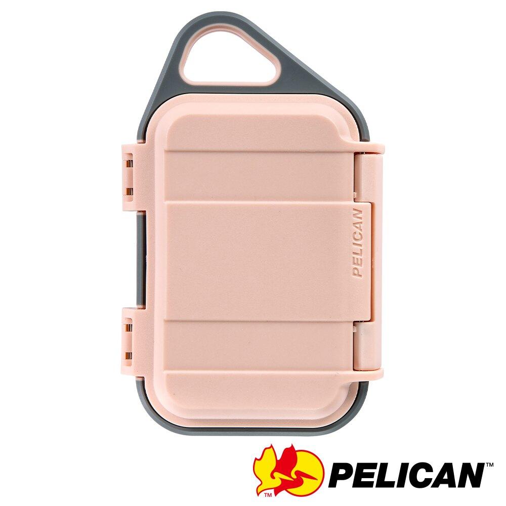 PELICAN G10 GOCASE 微型防水氣密箱-(粉灰) 公司貨
