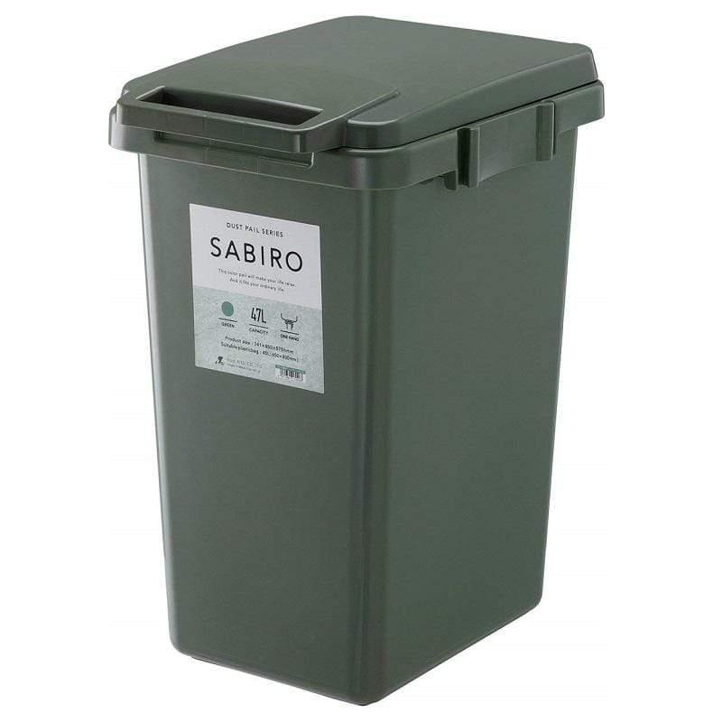 連結式環保垃圾桶 SABIRO 系列 45L - 三色 白色