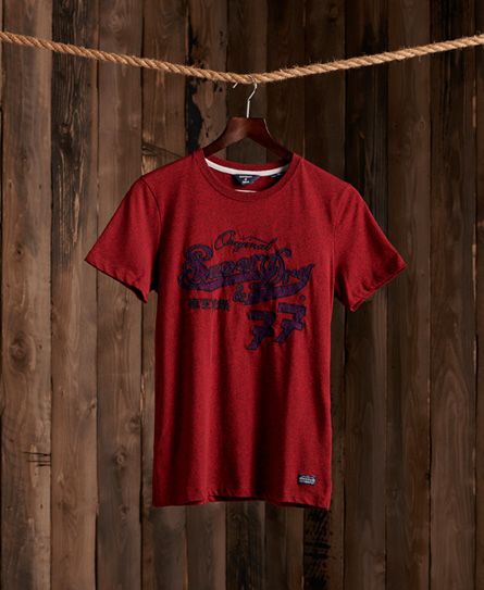 Superdry Re-Worked Classics Applique T-Shirt