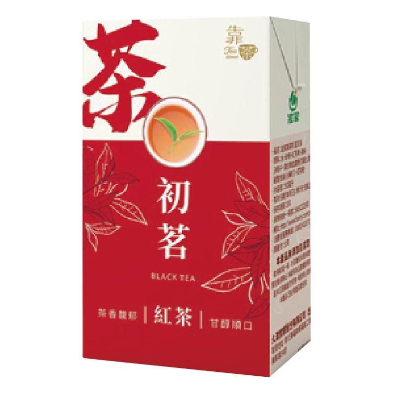 波蜜靠茶初茗紅茶-250ml
