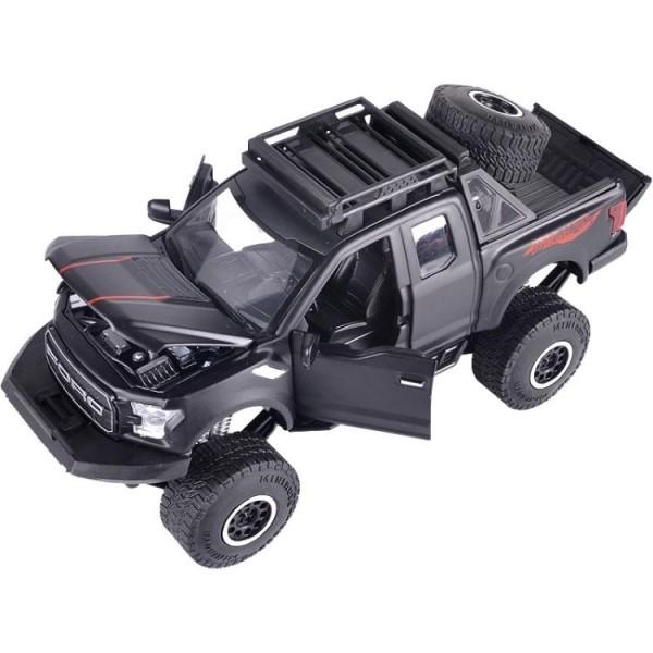 模型車 新福特猛禽F150玩具車模型仿真皮卡SUV合金車模型...