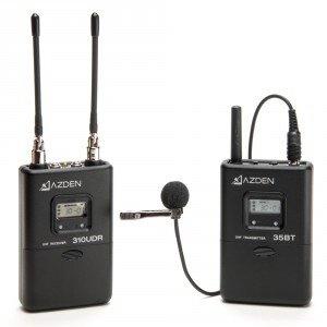 Azden 310LT 無線電音訊發射接收套組 (310LT公司貨)