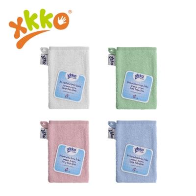 捷克XKKO 有機棉洗澡手套(4色任選)