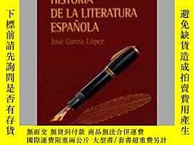 二手書博民逛書店罕見西班牙文學史Y248597 José García Lópe
