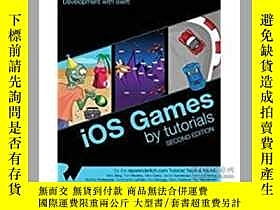 二手書博民逛書店iOS罕見Games by Tutorials: Second