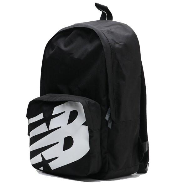 NEW BALANCE 後背包 黑色 大LOGO 運動包 書包 BG01009GBK Sneakers542